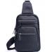 Мужской слинг на одно плечо черный Tiding Bag A25F-8791A - Royalbag Фото 3