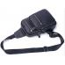 Мужской слинг на одно плечо черный Tiding Bag A25F-8791A - Royalbag Фото 5