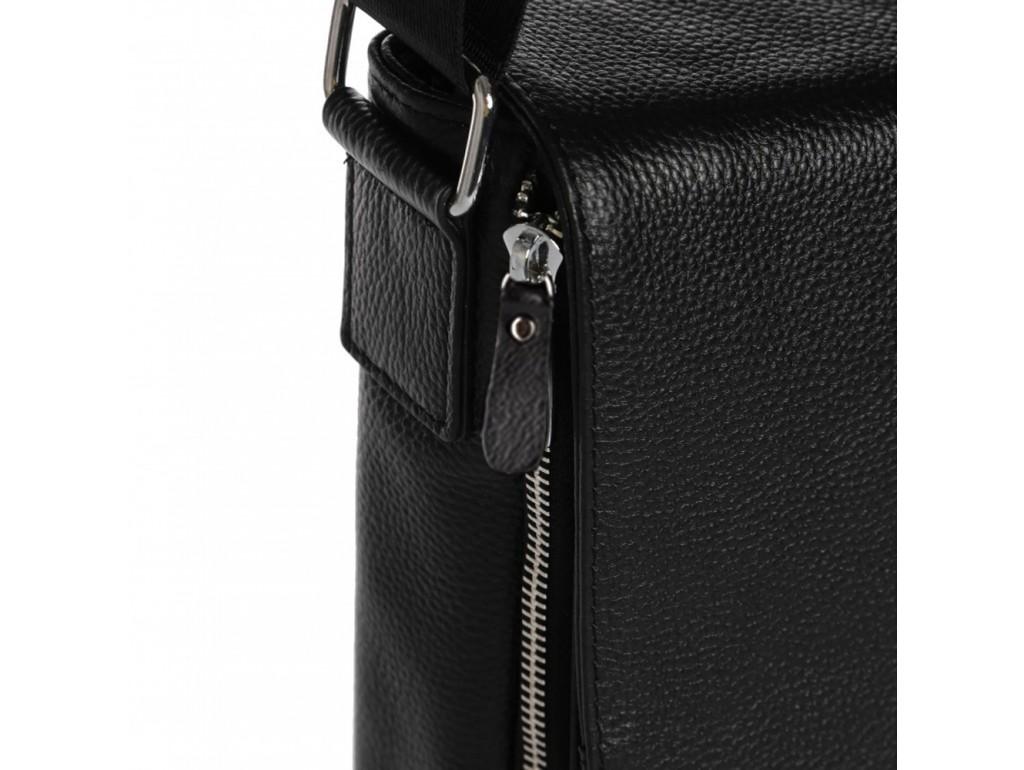 Мессенджер черный мужской Tiding Bag A25F-8877A - Royalbag