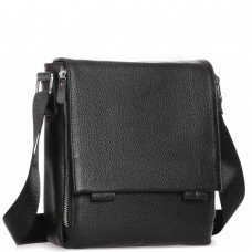 Мессенджер черный мужской Tiding Bag A25F-8877A - Royalbag