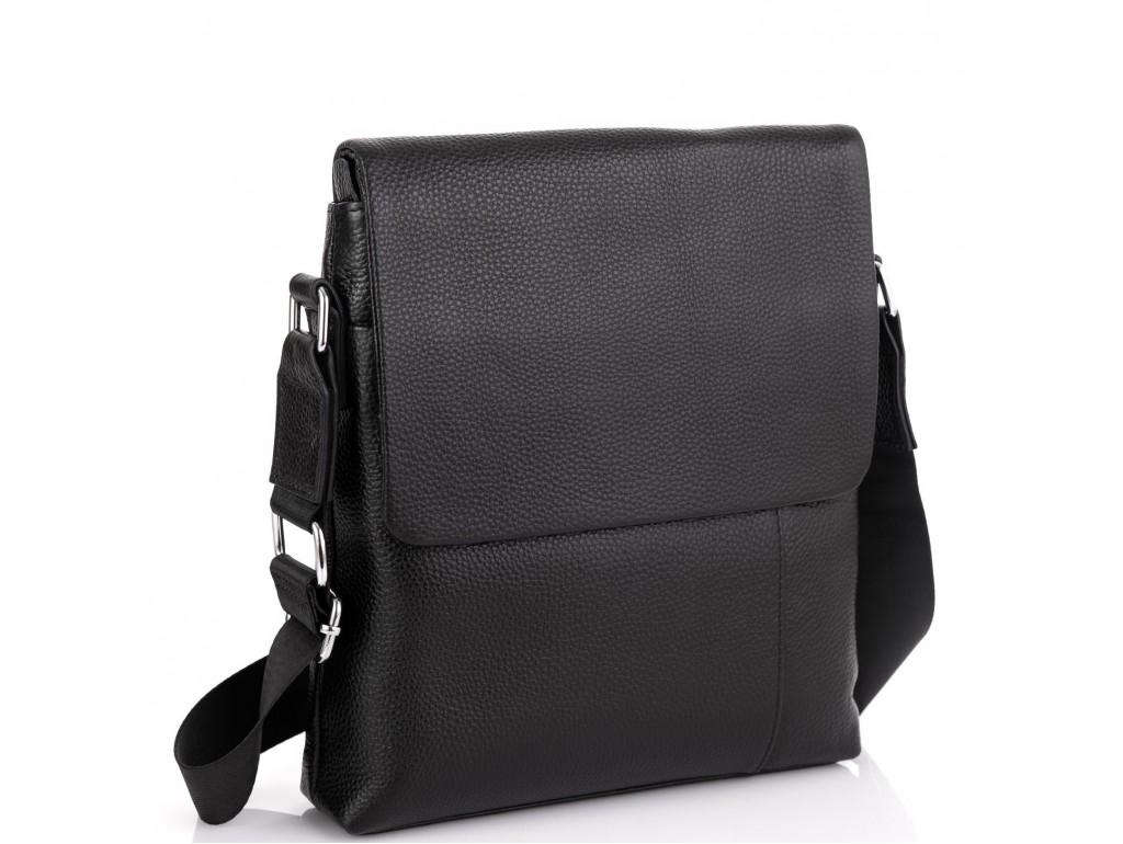 Кожаная сумка через плечо с клапаном Tiding Bag A25F-8878A - Royalbag Фото 1