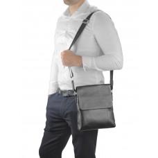 Кожаная сумка через плечо с клапаном Tiding Bag A25F-8878A - Royalbag
