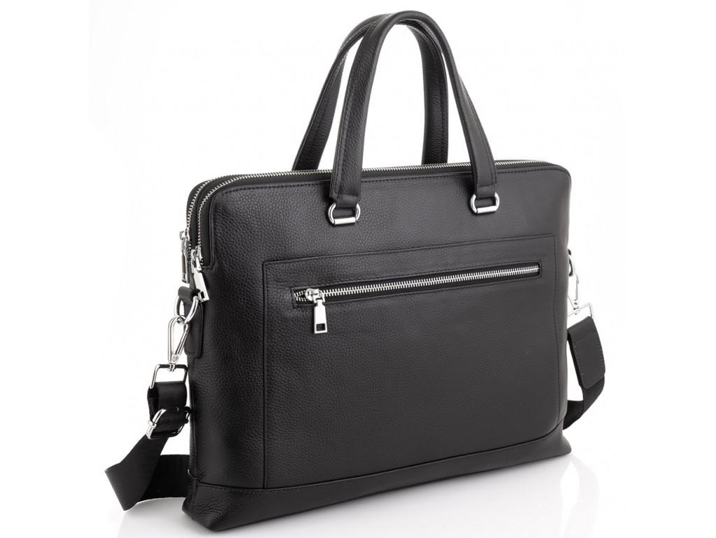 Сумка для ноутбука черная Tiding Bag A25F-9916-1A - Royalbag Фото 1