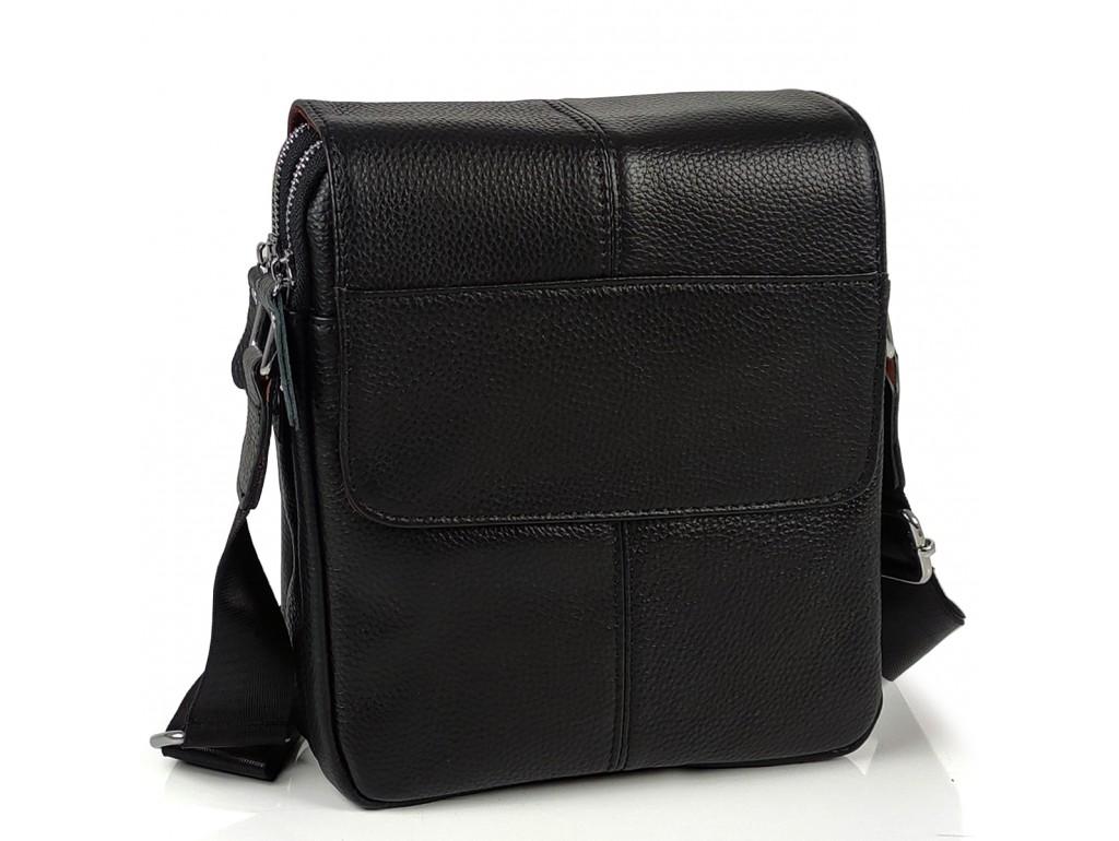 Мужская кожаная сумка через плечо Tiding Bag A25F-B065A - Royalbag Фото 1