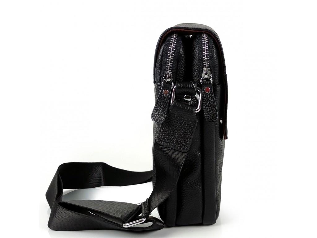 Мужская кожаная сумка через плечо Tiding Bag A25F-B065A - Royalbag