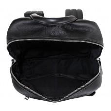 Чоловічий шкіряний рюкзак для ноутбука чорний Tiding Bag B3-154A - Royalbag