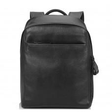 Рюкзак кожаный черный Tiding Bag B3-1663A-11NM - Royalbag