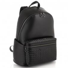 Мужской кожаный рюкзак с плетением Tiding Bag B3-8608A - Royalbag