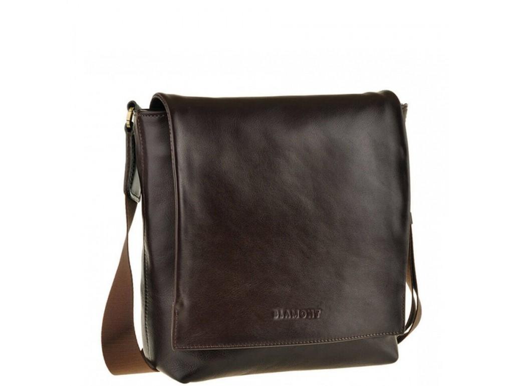 Мужская сумка через плечо из натуральной кожи Blamont Bn027C - Royalbag Фото 1