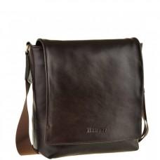 Мужская сумка через плечо из натуральной кожи Blamont Bn027C - Royalbag Фото 2