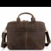 Винтажная кожаная сумка для ноутбука Tiding Bag D4-058R - Royalbag Фото 4