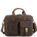 Винтажная кожаная сумка для ноутбука Tiding Bag D4-058R - Royalbag Фото 3