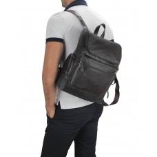Мужской кожаный рюкзак коричневый Tiding Bag M35-1017B - Royalbag