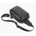 Мужская кожаная сумка-слинг черная Tiding Bag M35-1306A - Royalbag Фото 4