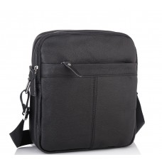 Мужская кожаная сумка на плечо Tiding Bag M38-1025A - Royalbag Фото 2