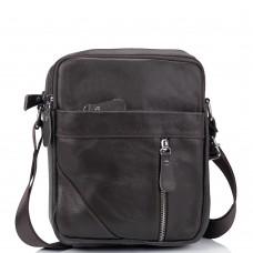 Мужская коричневая сумка через плечо Tiding Bag M38-1031C - Royalbag