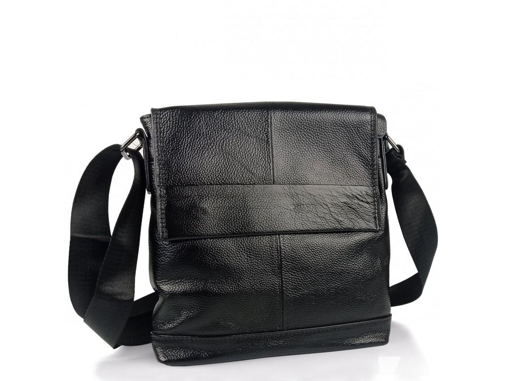 Мужская сумка через плечо натуральная кожа Tiding Bag M38-8136A - Royalbag Фото 1
