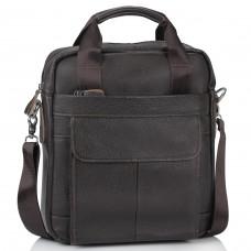 Сумка через плечо кожаная мужская Tiding Bag M38-8861DB - Royalbag