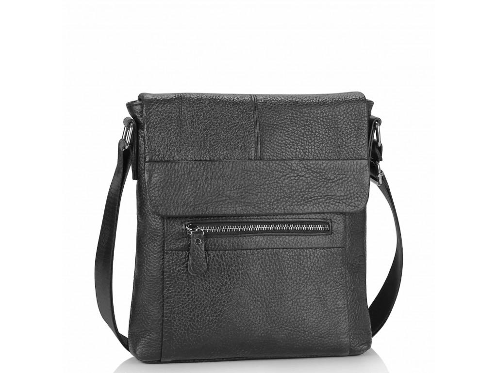 Мужская сумка через плечо кожаная Tiding Bag M38-9117-2A - Royalbag Фото 1
