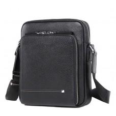 Мужская кожаная сумка на плечо маленькая Tiding Bag M911-1A - Royalbag