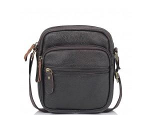 Мужская кожаная сумка-мессенджер через плечо Tiding Bag N2-1009DB - Royalbag