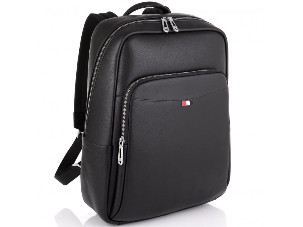Стильный кожаный мужской рюкзак Tiding Bag N2-191229-3A - Royalbag Фото 1