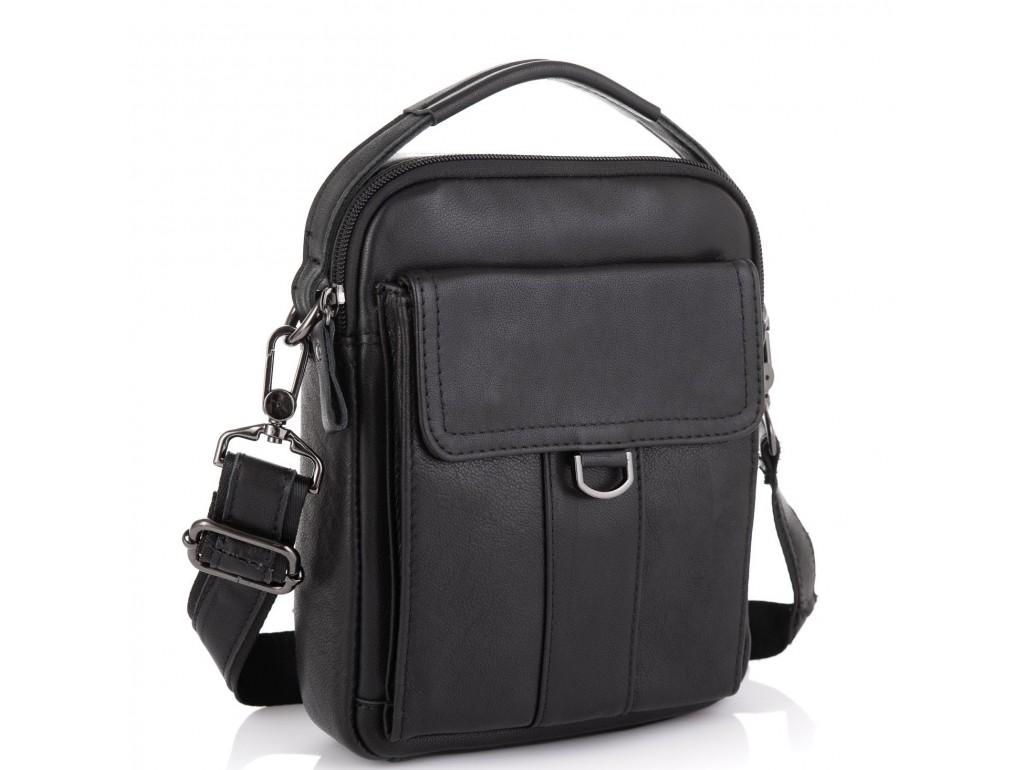 Небольшая мужская кожаная сумка через плечо Tiding Bag N2-8013A - Royalbag Фото 1