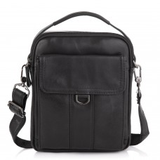 Небольшая мужская кожаная сумка через плечо Tiding Bag N2-8013A - Royalbag