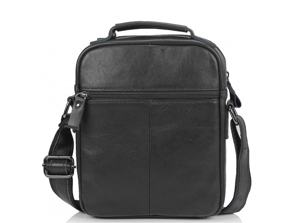 Мужская сумка через плечо черная Tiding Bag N2-8017A - Royalbag