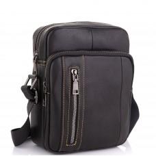 Мужская сумка через плечо из натуральной кожи Tiding Bag N2-9801A - Royalbag Фото 2