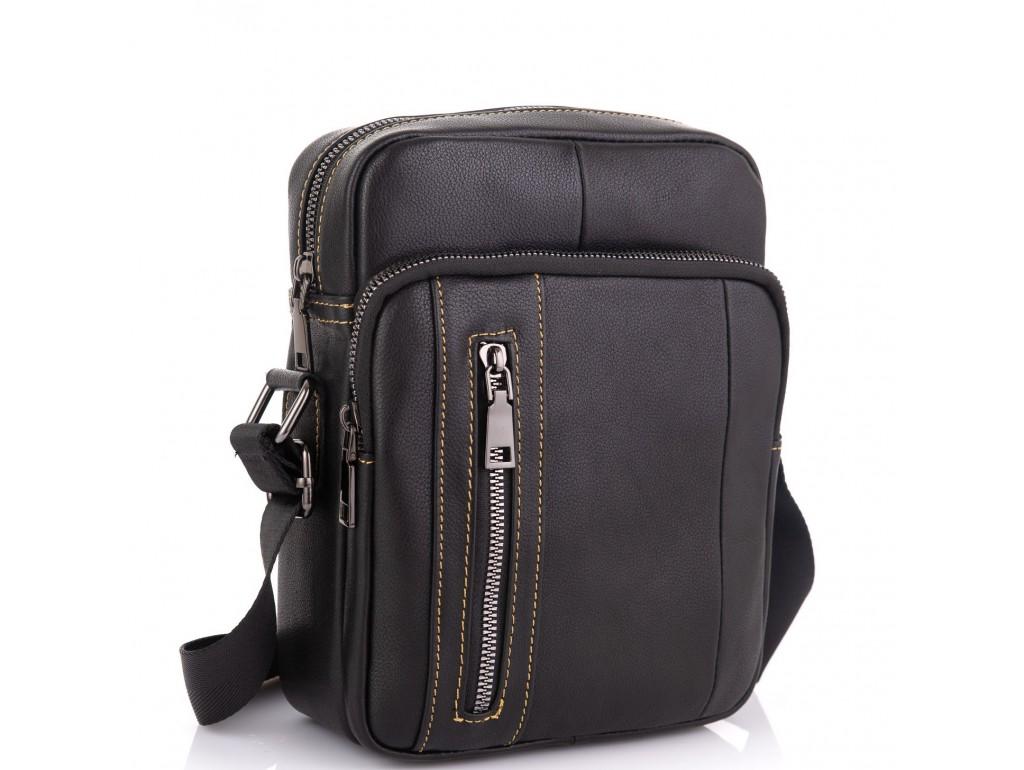 Мужская сумка через плечо из натуральной кожи Tiding Bag N2-9801A - Royalbag Фото 1