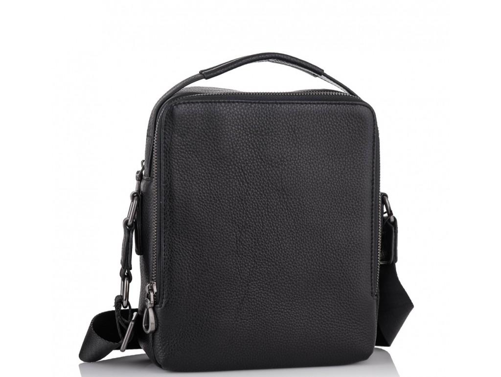 Барсетка мужская кожаная через плечоTiding Bag NA50-1003A - Royalbag Фото 1