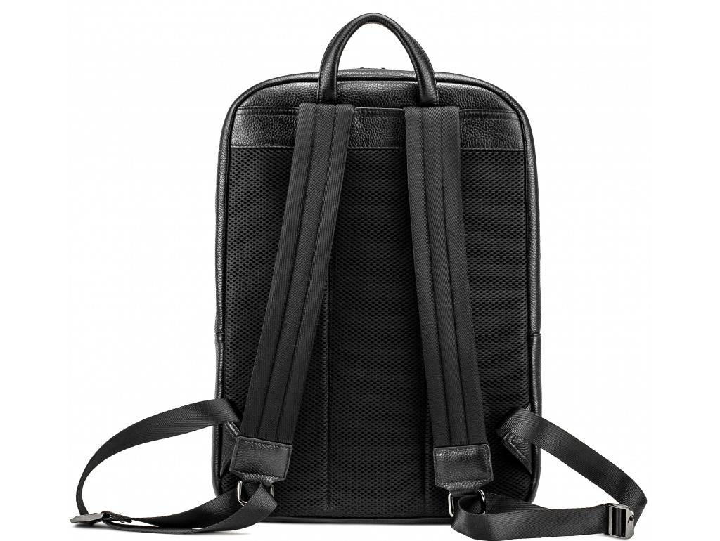 Чоловічий шкіряний рюкзак для ноутбука на два відділа Tiding Bag NM18-005A - Royalbag