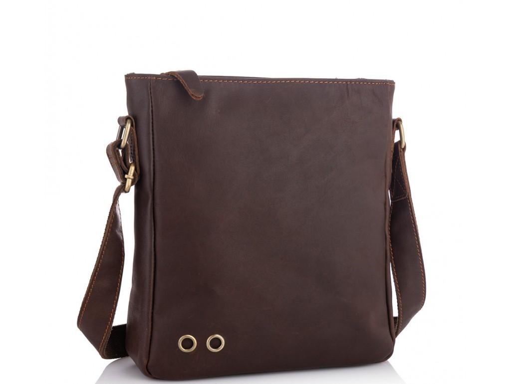 Мужской мессенджер через плечо натуральная кожа Tiding bag NM15-0016R - Royalbag Фото 1