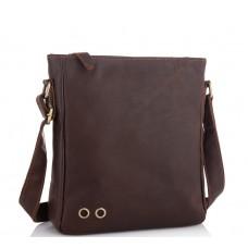 Мужской мессенджер через плечо натуральная кожа Tiding bag NM15-0016R - Royalbag Фото 2
