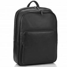 Чоловічий шкіряний рюкзак для ноутбука на два відділа Tiding Bag NM18-005A - Royalbag Фото 2