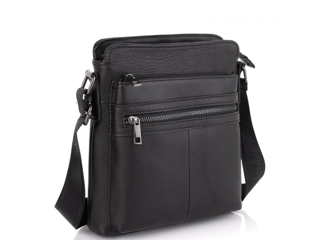 Стильная мужская кожаная сумка через плечо Tiding Bag NM20-0101A - Royalbag Фото 1
