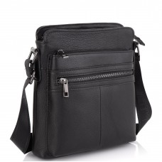 Стильная мужская кожаная сумка через плечо Tiding Bag NM20-0101A - Royalbag Фото 2