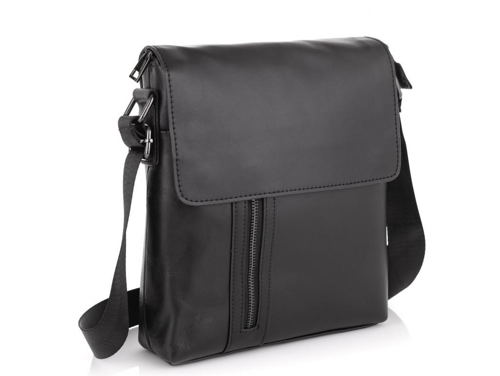 Стильный мужской мессенджер через плечо Tiding Bag NM20-012A - Royalbag Фото 1