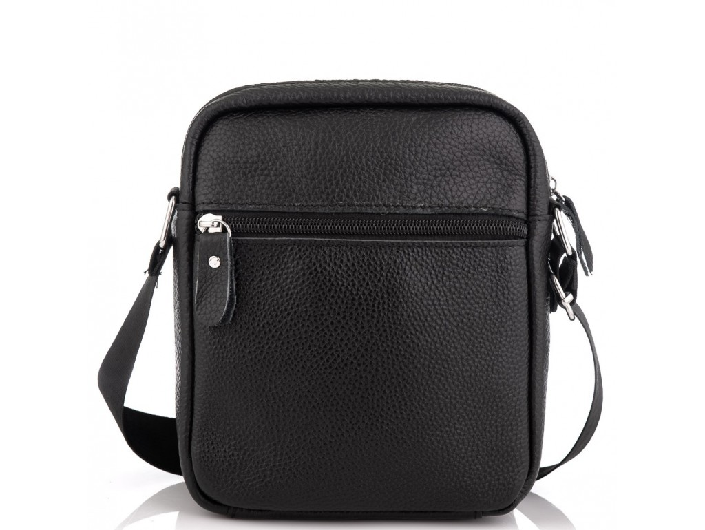Сумка мужская черная через плечо Tiding Bag NM20-1811A - Royalbag