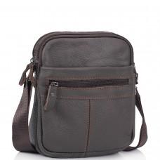 Сумка через плечо маленькая коричневая Tiding Bag NM20-1811DB - Royalbag Фото 2