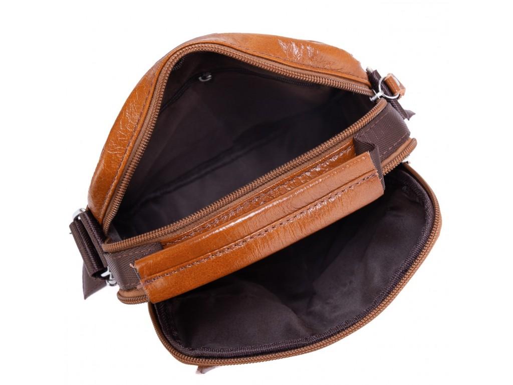 Коричневая мужская сумка через плечо Tiding Bag NM20-2611C - Royalbag