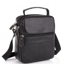 Черная мужская сумка-мессенджер Tiding Bag NM20-6021A - Royalbag Фото 2