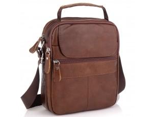 Коричневая мужская сумка-мессенджер Tiding Bag NM20-6021C - Royalbag