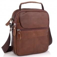 Коричневая мужская сумка-мессенджер Tiding Bag NM20-6021C - Royalbag Фото 2
