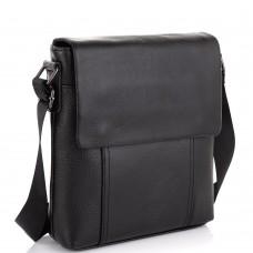Кожаная сумка-мессенджер Tiding Bag NM20-8153A - Royalbag Фото 2