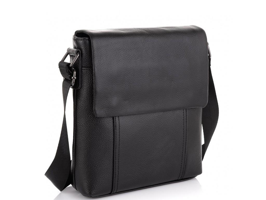 Кожаная сумка-мессенджер Tiding Bag NM20-8153A - Royalbag Фото 1