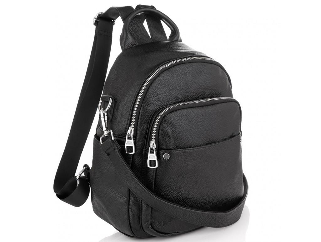 Жіночий шкіряний рюкзак Olivia Leather NWBP27-003A - Royalbag Фото 1