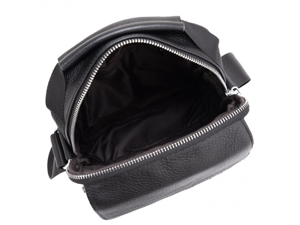 Мужская сумка через плечо кожаная Tiding Bag NM23-2302A - Royalbag