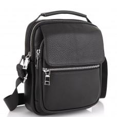 Мужская сумка через плечо кожаная Tiding Bag NM23-2302A - Royalbag Фото 2